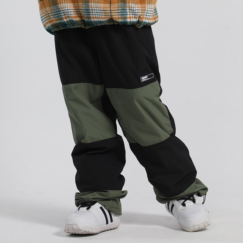 Men's Unisex Gsou Snow Eudemonia Glimmer Outdoor Snow Pants