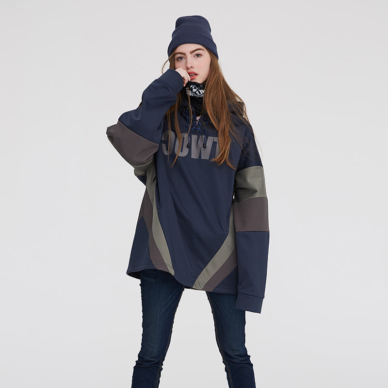 Women's TWOC Mountains Slope Star Snow Hoodie