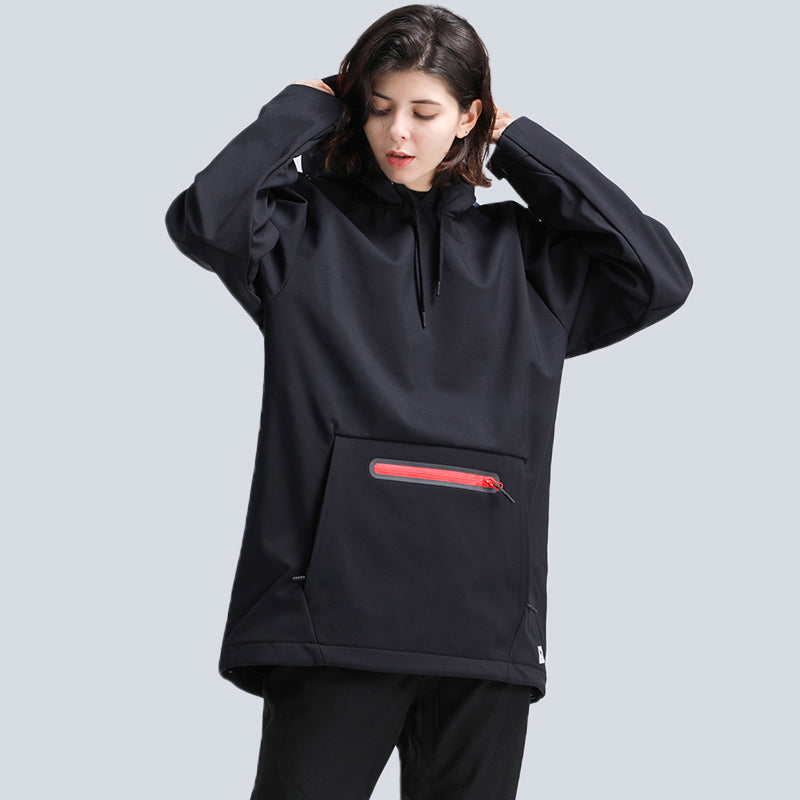 Women's Gsou Snow Unisex Mountain Snow Pullover Hoodie