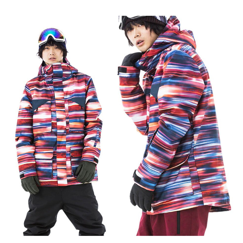 Japan Secret Garden Days Men's Regular Snowboard Jacket