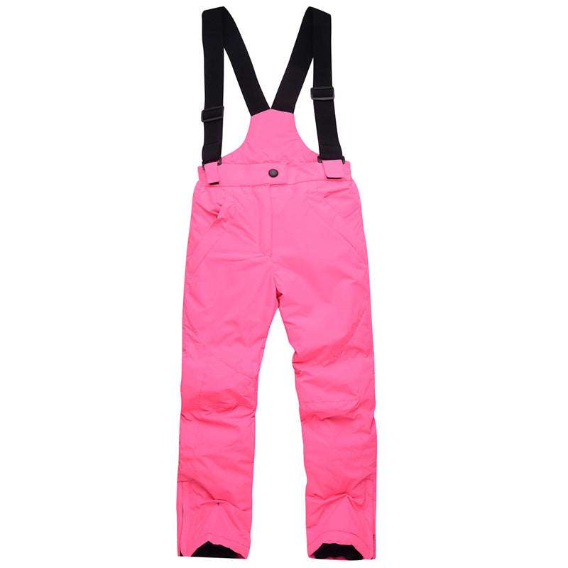 Kid's Unisex Arctic Queen Winter Snow Bibs Ski Snowboard Pants