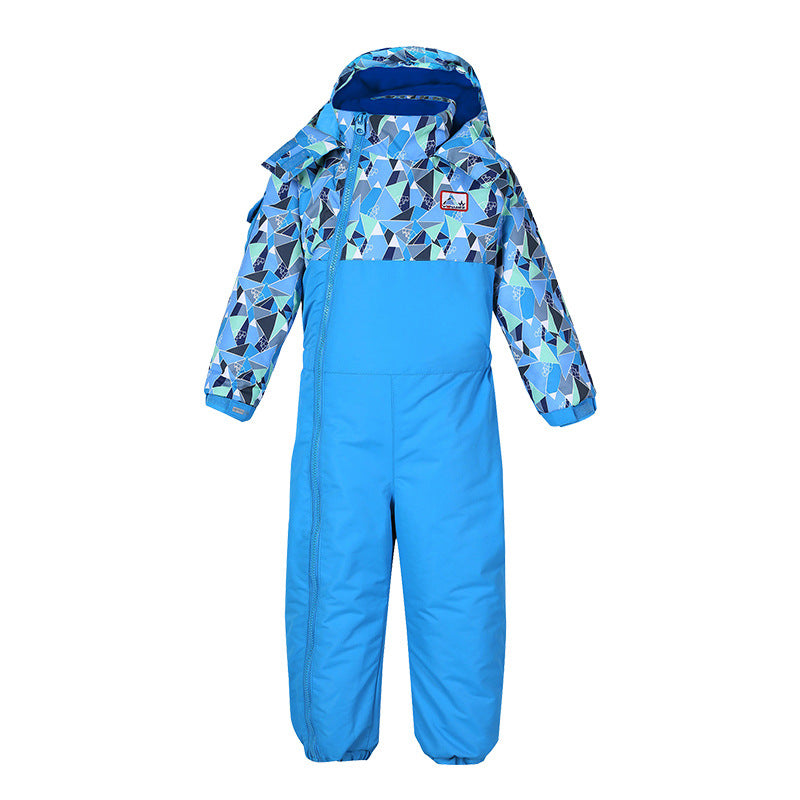Baby Boy & Girls Winter Outerwear Waterproof Cute Ski Suit One Piece Snowsuits (12M - 3 Years Old)