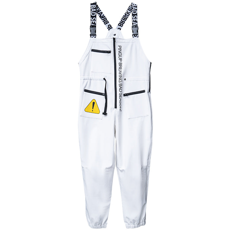 Women's Pingup Unisex Breaking Bad Season Snowboard Bibs Snow Pants