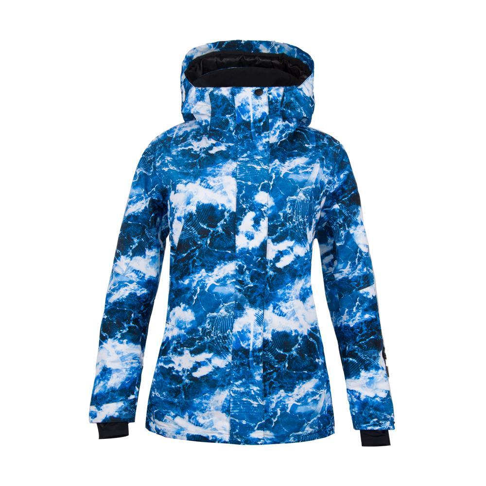 Women's SMN Great Ocean Blue Waterproof Winter Ski Jacket