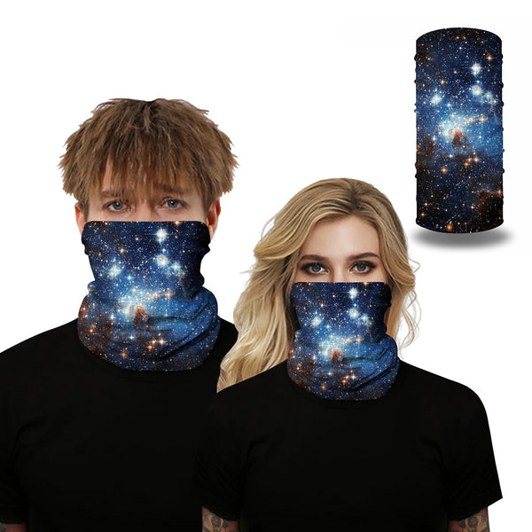 Unisex Colorful Fancy Pattern Face Masks & Neck Warmer