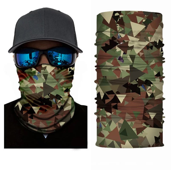Men's Army Camouflage Face Masks & Neck Warmer