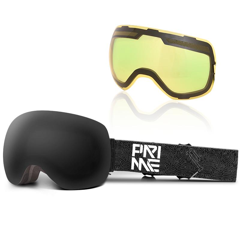 Unisex Prime Upgrade Magnetic Snowboard Goggles