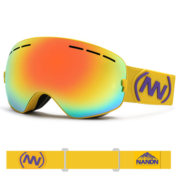 Kid's Nandn Unisex Wintersports Snow Goggles Package
