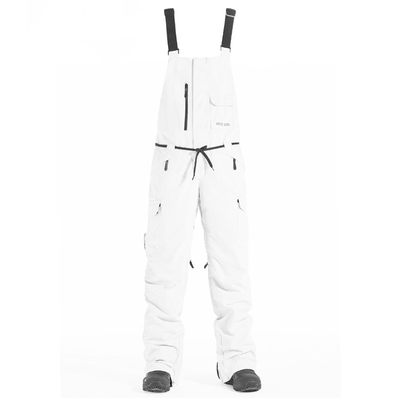 Women's Arctic Queen French Chic Unisex Snowboard Ski Bib Pants