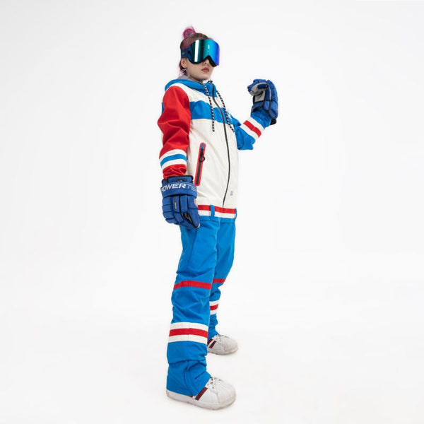 PINGUP Icy Hockey Dope Style One Piece Snowboard Suits