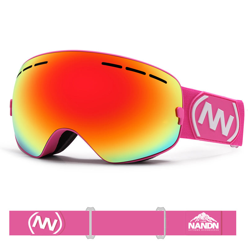 Girl's Nandn Unisex Wintersports Snow Goggles Package