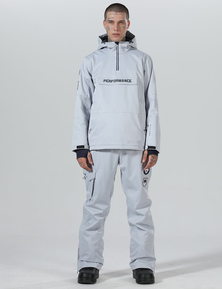 Mens High Experience Two-piece Snowboard Suit - Jacket & Pants Set