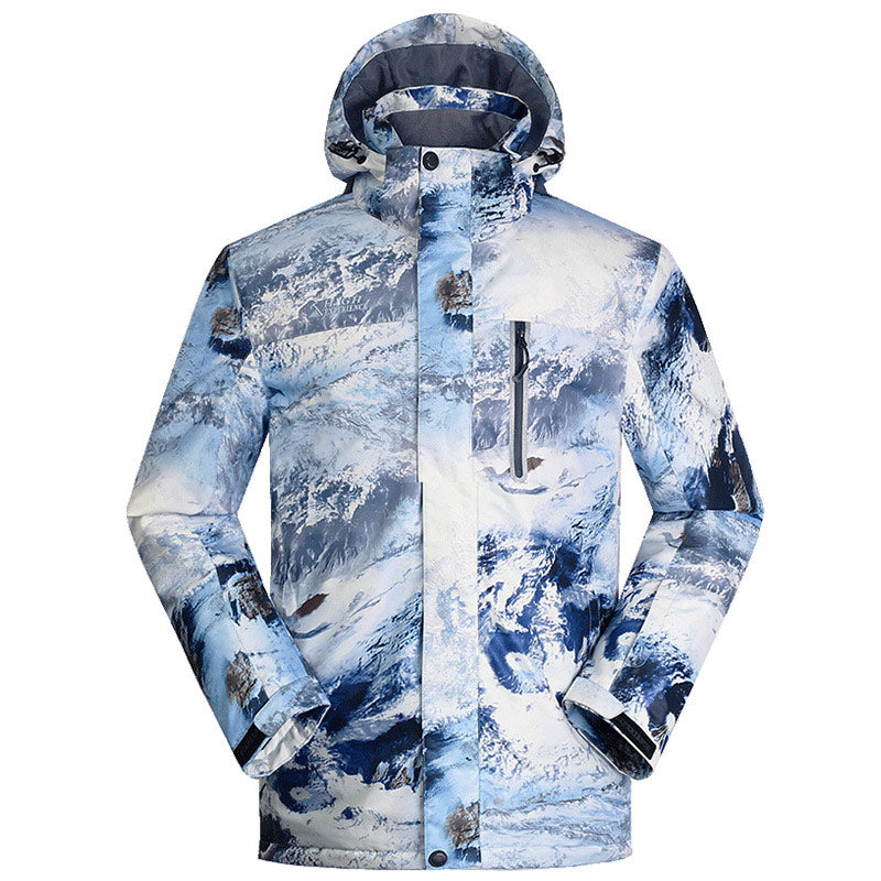 Men's High Experience Snow Mountains 15k Waterproof Ski Jacket