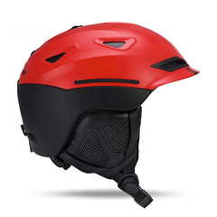 Unisex Nandn Winter Mountain Tracks Snow Helmet