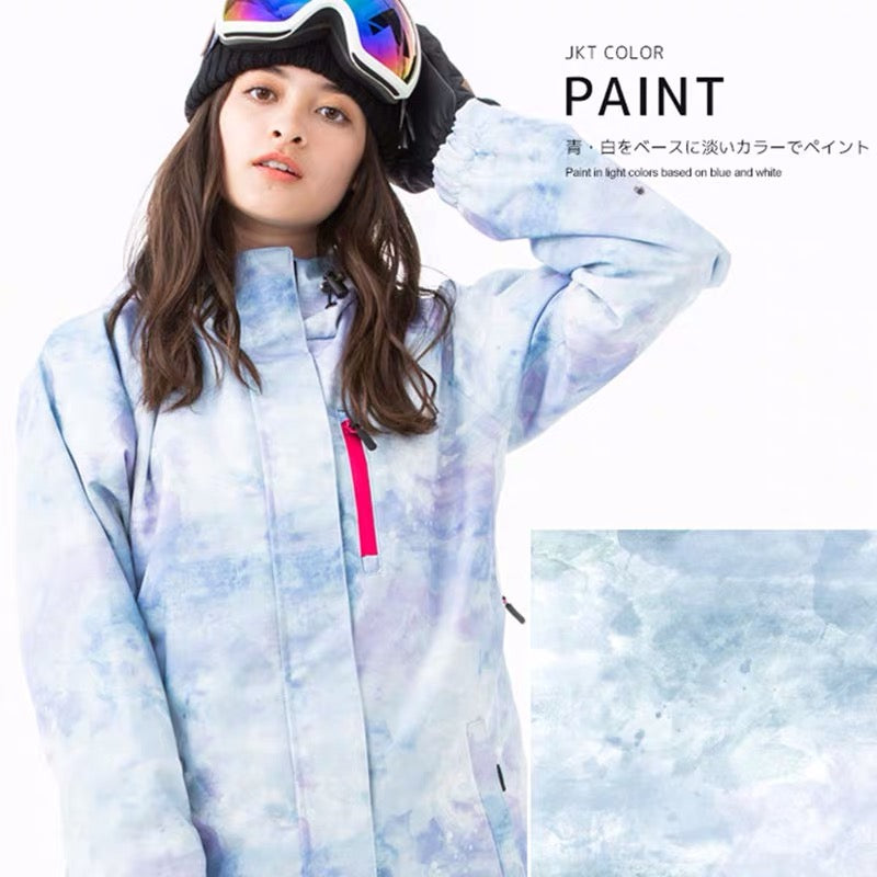 Japan Activersion Mountain Honeymoon Women Snowboard Jacket