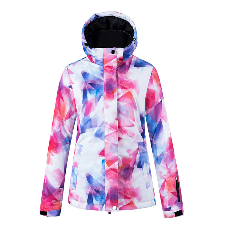 Women's Winter Colorful Waterproof Fire & Ice Omni Heat Ski Jacket