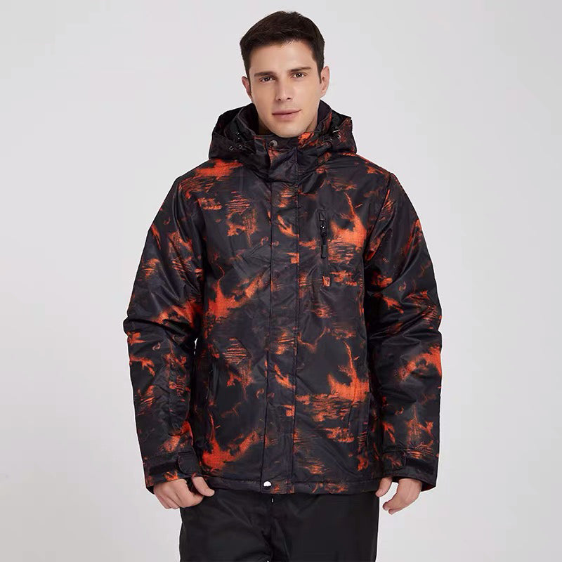 Men's Mutu Snow Thermal Shadow Winter Utility Mountain Snow Jacket