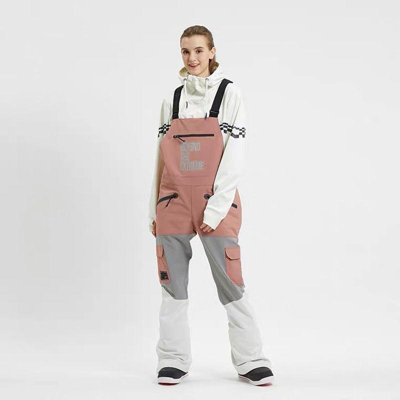 Women's LD Ski Beyond The Extreme Insulated Overalls Bib Snow Pants