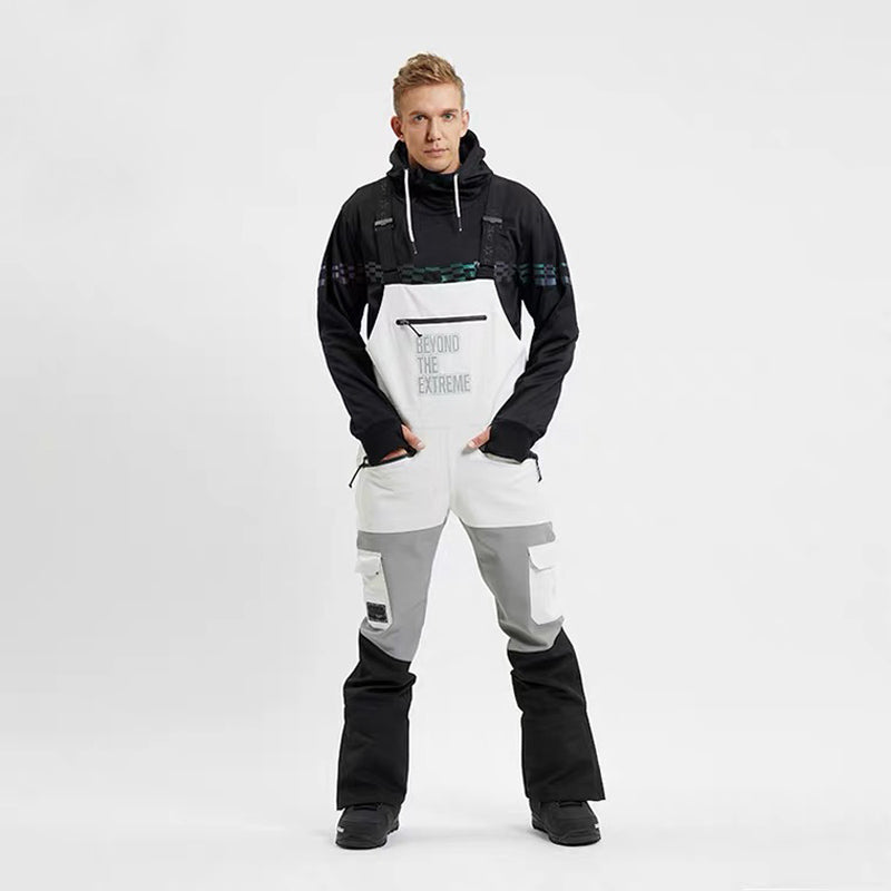 Men's LD Ski Beyond The Extreme Insulated Overalls Bib Snow Pants