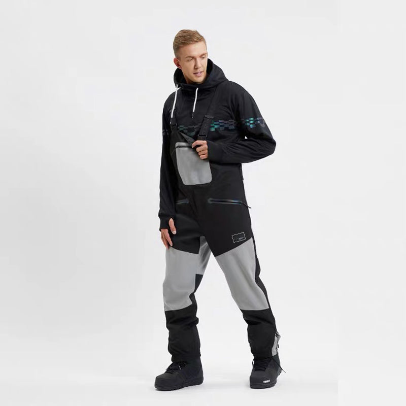 Men's LD Ski Beyond The Extreme Functional Overalls Bib Snow Pants