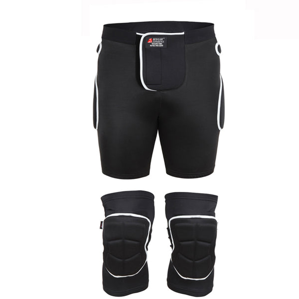 High Experience Unisex Tri-Flex Protective Shorts / Knee Pads