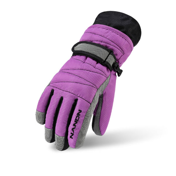 Kid's Nandn Winter Waterproof Mountains Ski Gloves