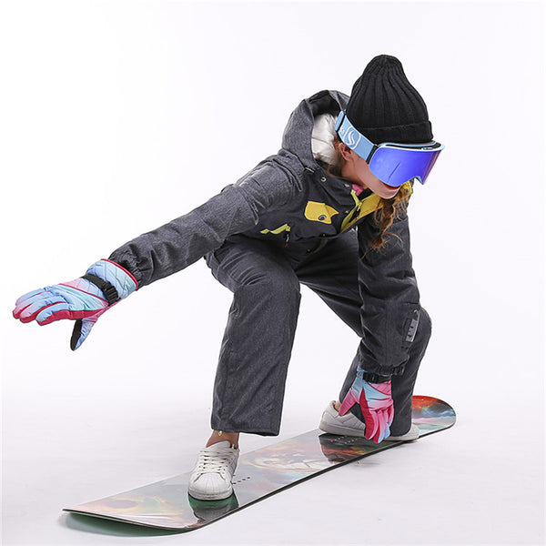 Women's Winter Fashion One Piece Ski Jumpsuit Winter Snowsuits