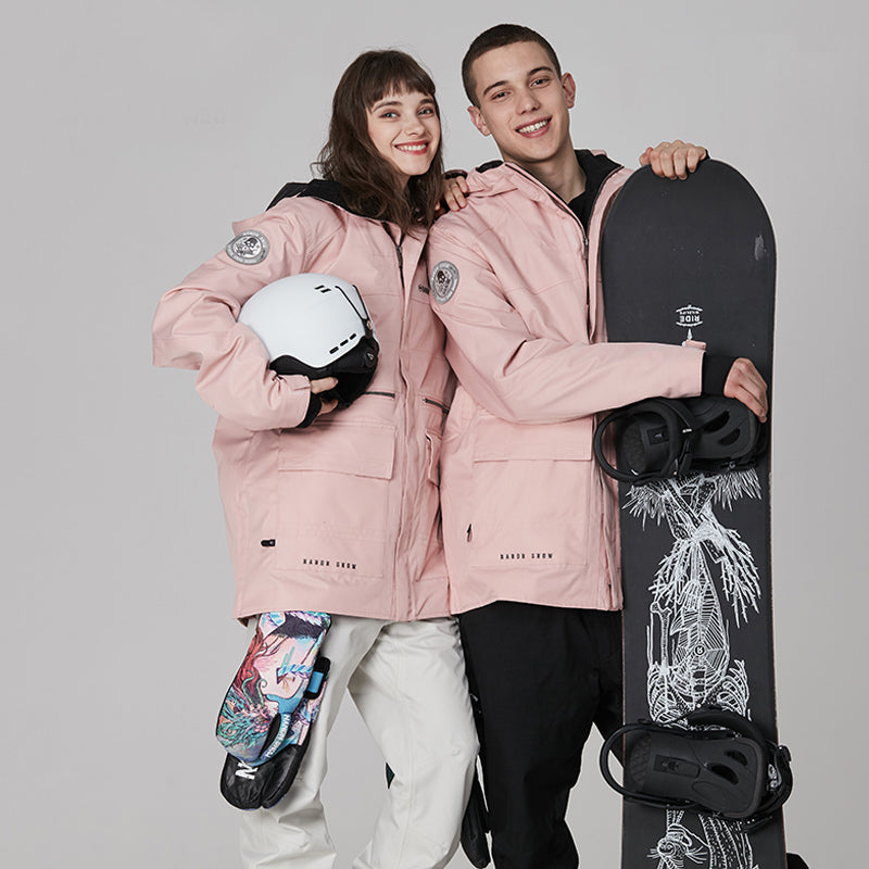 Women's Nandn Mountain Star Unisex Snowboard Jacket