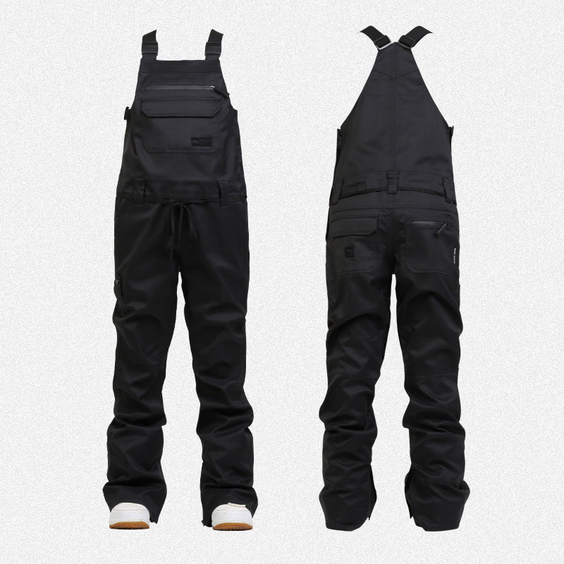 Men's Nandn Unisex Winter Mountain Pow Coverall Snowboard Bibs Snow Pants