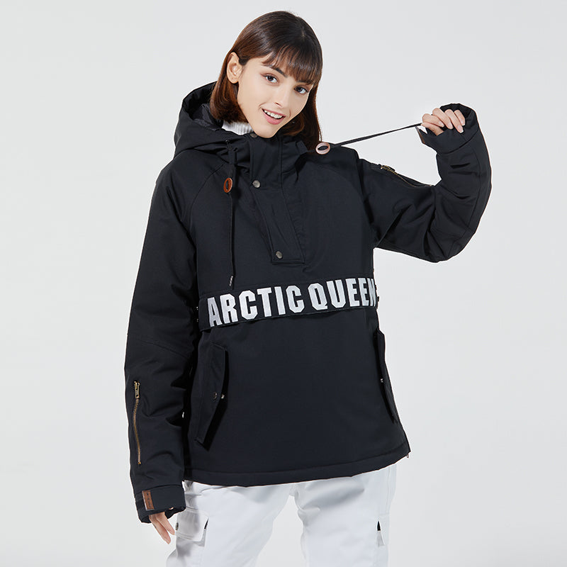 Women's Arctic Queen Volta Outdoor Ski Hoodie
