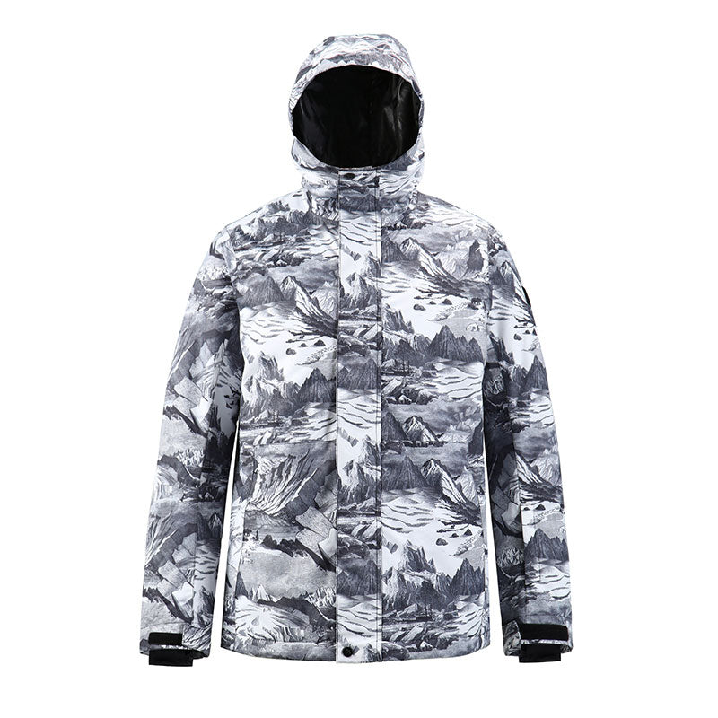 Men's SMN Winter Mountain Snow Shred Freestyle Snow Jacket