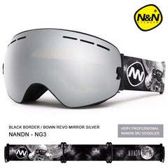 Unisex Nandn Fall Line Snowboard Goggles