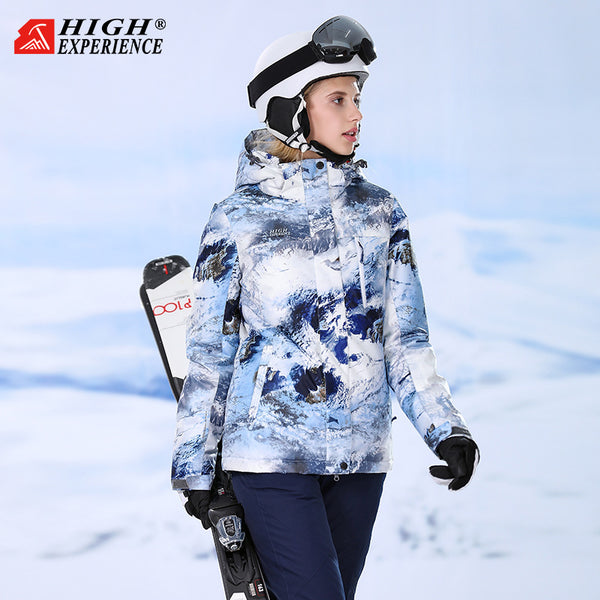Women's High Experience Snow Mountains 15k Waterproof Ski Jacket