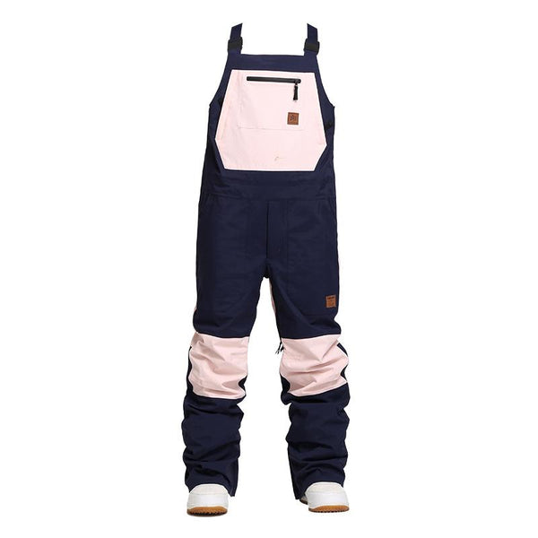 Nandn Unisex Winter Shred Snow Pow Overall Snowboard Bibs Snow Pants