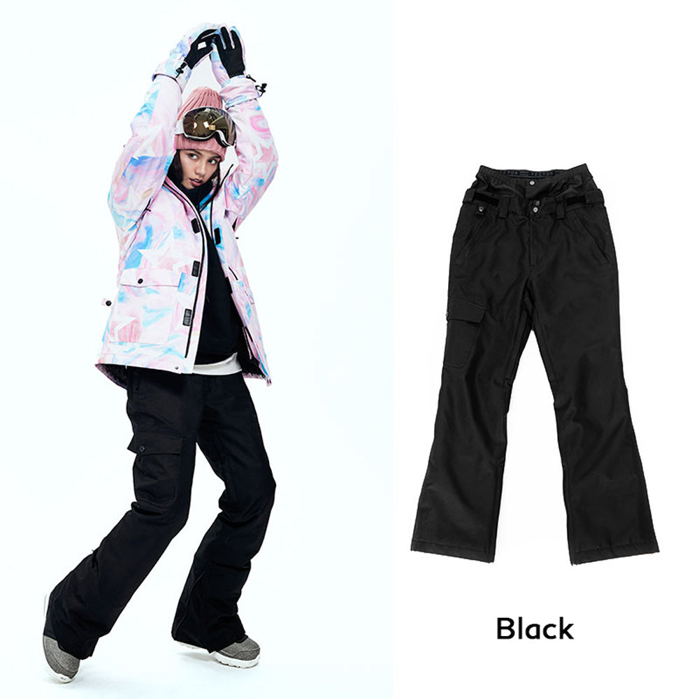 Women's Vector 10k Waterproof Mountains Girl Snowboard/Ski Pants