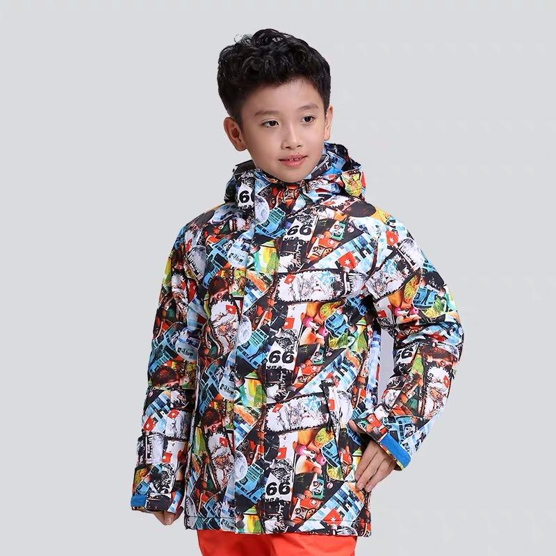 Boys Gsou Snow Advanced Rider Driven 10k Snowboard Jacket