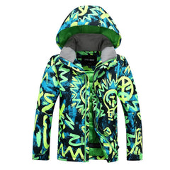 Boys Gsou Snow Bulb Lights 10k Insulated Ski Jacket