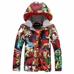 Boys Gsou Snow Superhero 10k Winter Snow Jacket