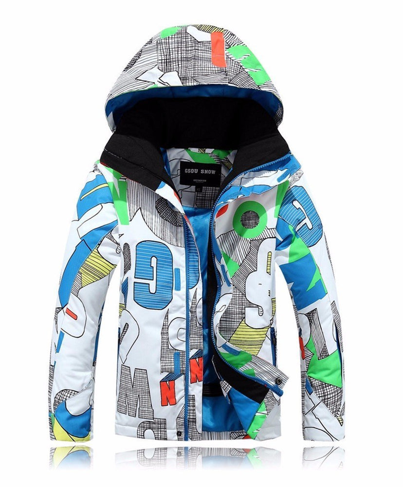 Boys Gsou Snow Wonderland Playground 10k Ski Snowboard Jacket