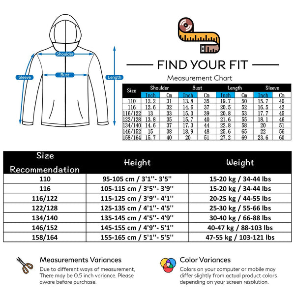 Boy's Phibee Attractive Back Winter Sportswear Waterproof Ski Jacket - snowverb