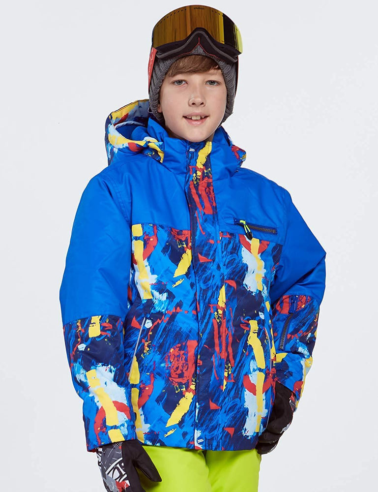 Boy's Phibee Helitack Winter Sportswear Waterproof Snowboard Jacket