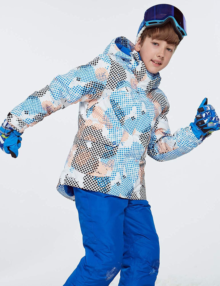 Boy's Phibee Luna Winter Sportswear Waterproof Ski Jacket