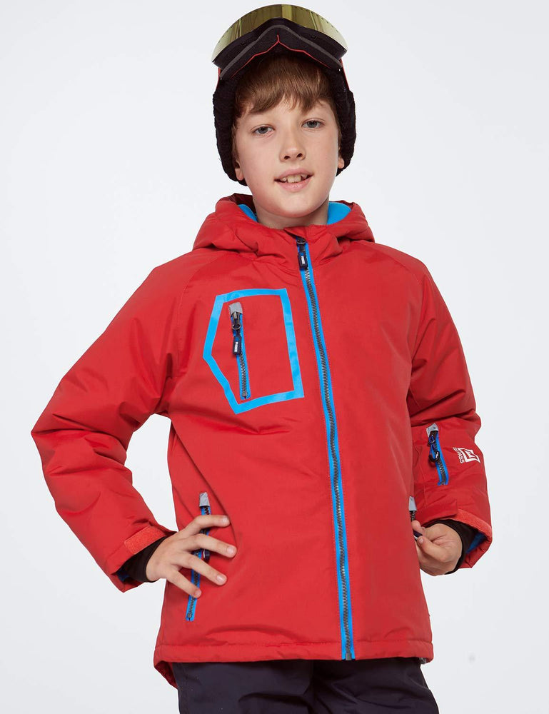 Boy's Phibee Novus Winter Sportswear Waterproof Ski Jacket