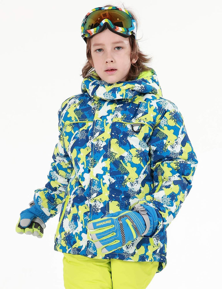 Boy's Phibee Snowfall Winter Sportswear Waterproof Ski Jacket