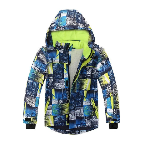 Boy's Phibee Snowland Winter Sportswear Waterproof Ski Jacket - snowverb
