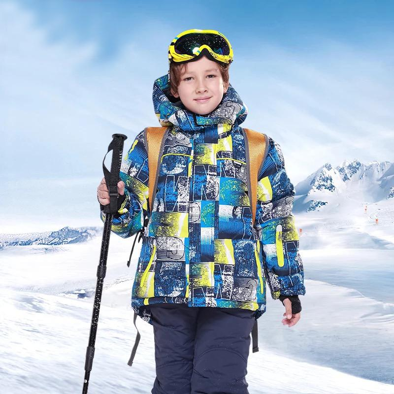 Boy's Phibee Snowland Winter Sportswear Waterproof Ski Jacket