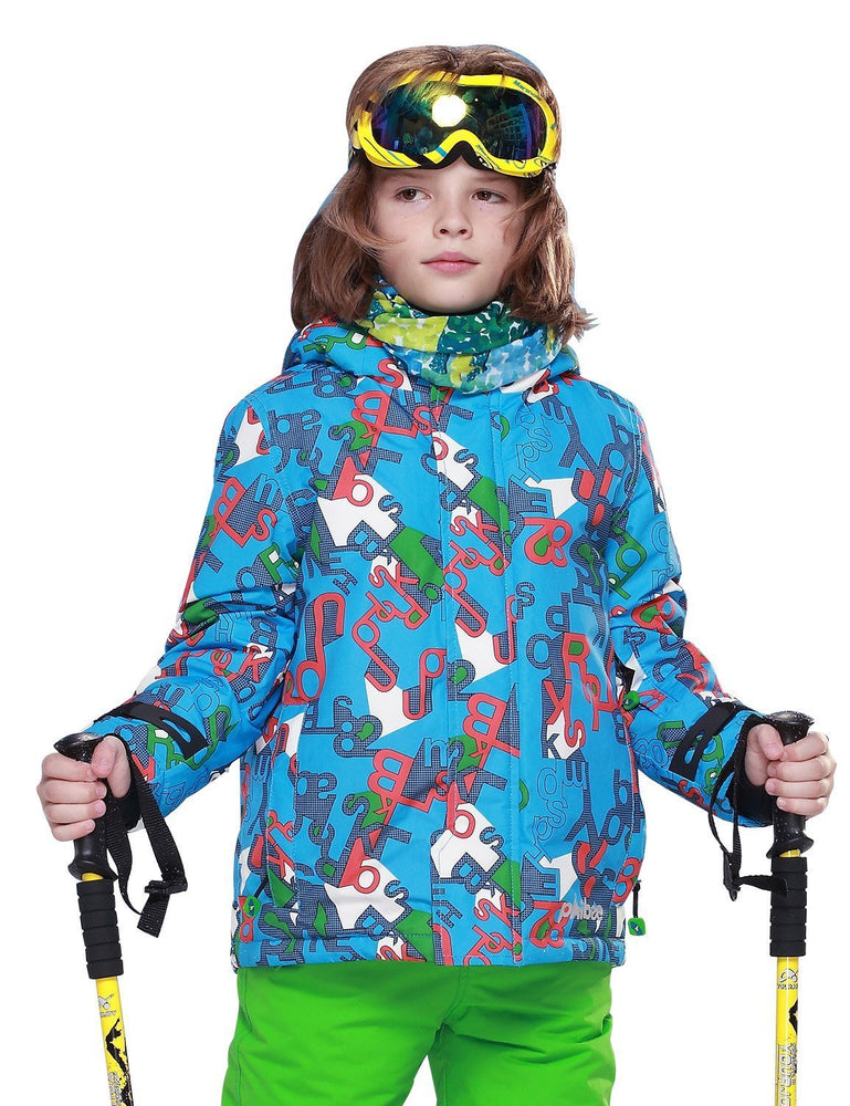 Boy's Phibee Winter Wonderland Sportswear Waterproof Ski Jacket