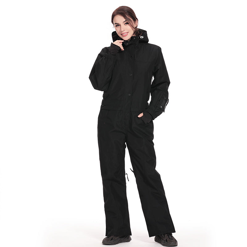 Women's Classic Backcountry Epic Overall One Piece Ski Suits Winter Snowsuits