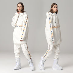 Womens Searipe Unisex Winter Snowy Pow Two Pieces Snowsuit