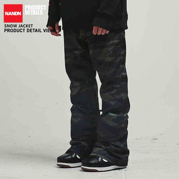Men's Nandn High Performance Ski/Snowboard Pants - Couple Style